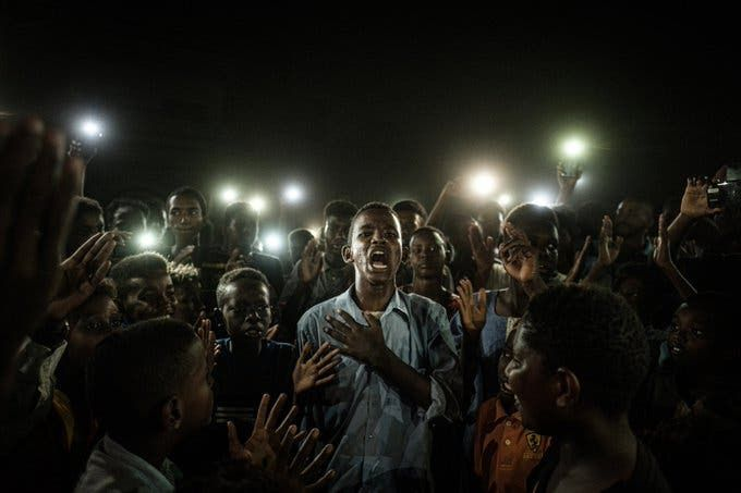 In Khartoum Hundreds Of Protesters Call For The Removal Of Pm Abdalla Hamdok In 2020 World Press Photo Awards Press Photo