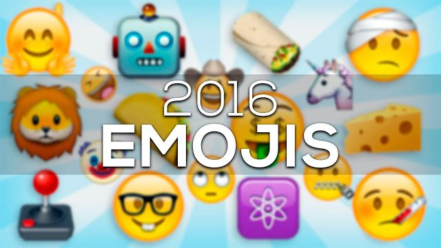 Estos son los 72 Nuevos Emojis 2016 para Whatsapp