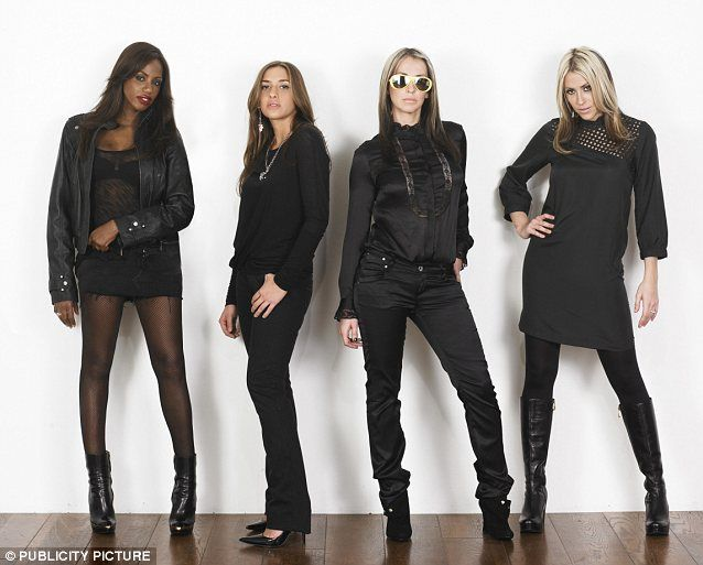 The cool kids: Natalie and Nicole made up All Saints with Melanie Blatt and Shaznay Lewis