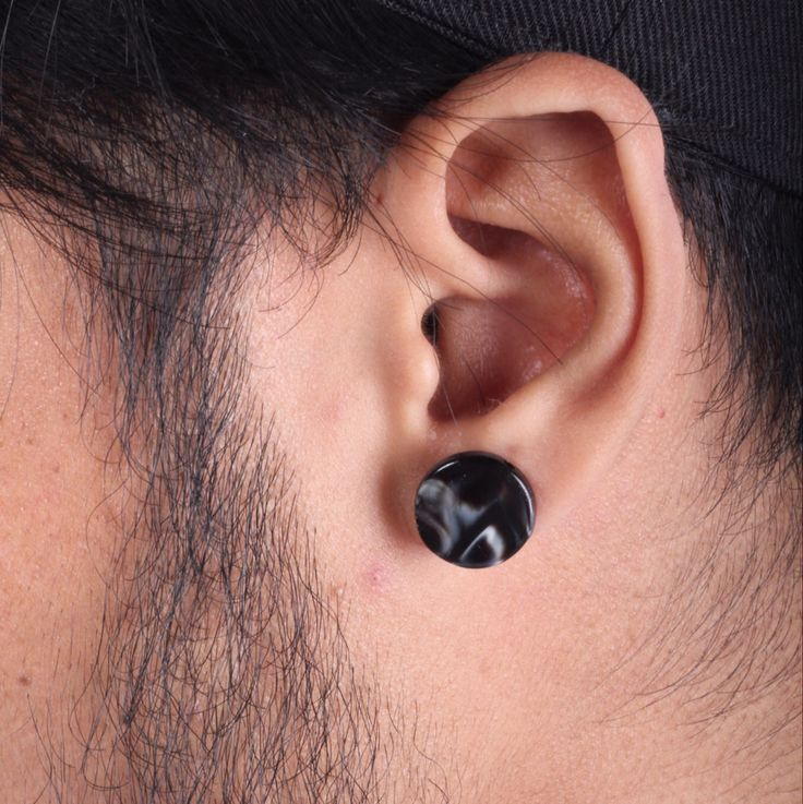 Marble earring for mens and ladies.  Get our newest accessories on www.jeunnes.com