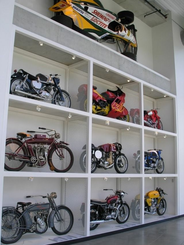 Motorcycle Carport Storage : Best images about motorcycles parts storage for shop