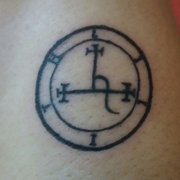 Lilith tattoo. Lilith symbol