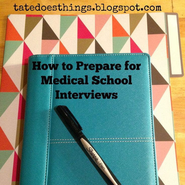 How to Prepare for Medical School Interviews #medicalschool #premed #medschoolinterviews
