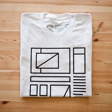 $26.00 Wireframe Tee Shirt