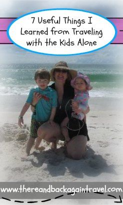 Traveling alone with kids can be intimidating (I know I was a little scared before we left...) Here are the lessons I learned...most importantly, I learned that WE CAN DO IT! YES WE CAN!