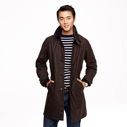 Barbour® Merton mac - outerwear - Men's new arrivals - J.Crew