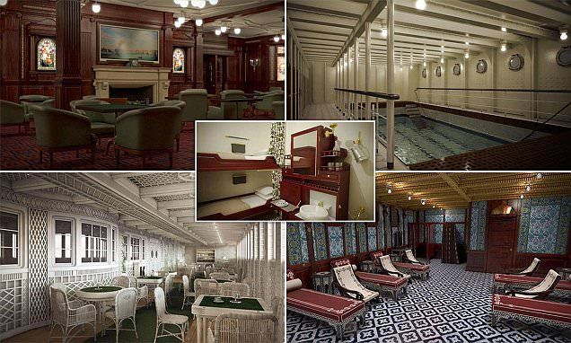 Inside the lavish replica of the Titanic, which is due to sail in 2018
