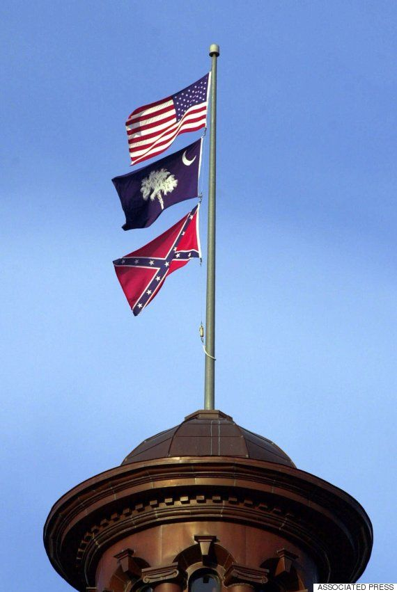 confederate flag columbia - Provided by The Huffington Post