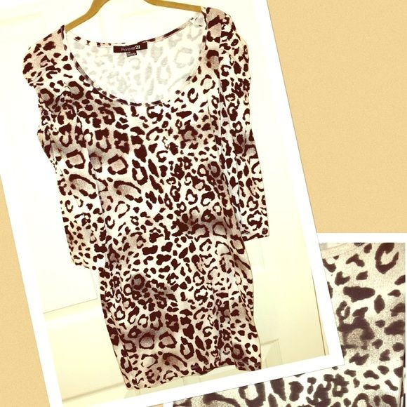 Animal Print Body Con Animal Print Body Con. In excellent condition. Used once. Dresses Mini