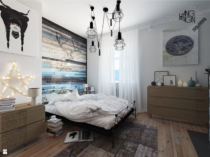 Skandynawska osobliwość - zdjęcie od Pracownia projektowa: Living by Design - sztuka tworzenia przestrzeni - Sypialnia - Styl Skandynawski - Pracownia projektowa: Living by Design - sztuka tworzenia przestrzeni
