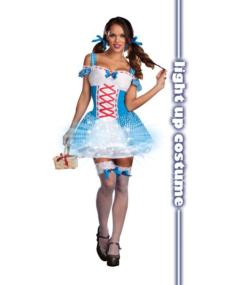 light up traveling cutie costume - Dorothy Halloween Costume Women