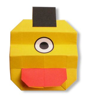 Origami Jack O' Lantern