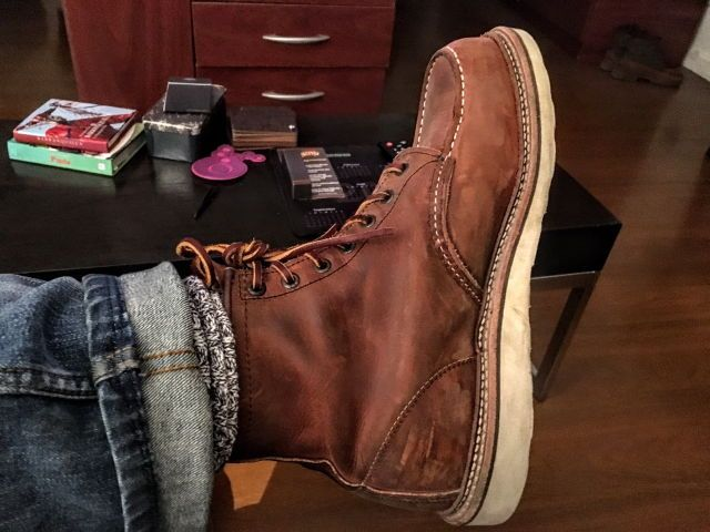 """Red Wing Heritage 1907 Moc 6"""" Boot"""