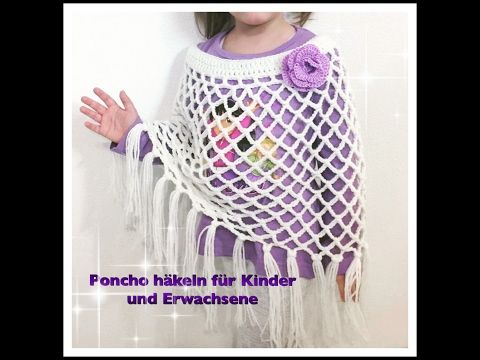 14 best poncho images on Pinterest | Ponchos, Stricken und häkeln ...