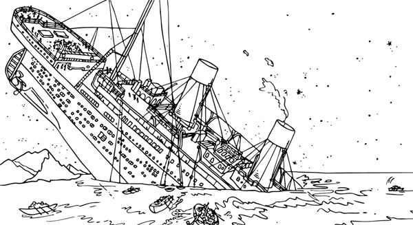 titanic coloring pages printable - titanic coloring pages homeschooling unit study