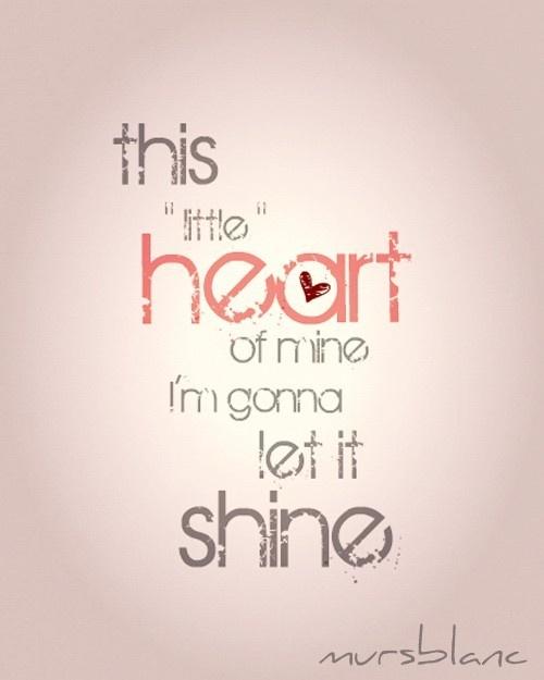 ~This Little Heart