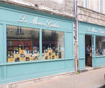 La Maison Gabin caviste à Bordeaux Chartrons en livraison à domicile avec vos courses alimentaires de produits frais par Mon Assiette Locale. Livraison écologique en vélo triporteur