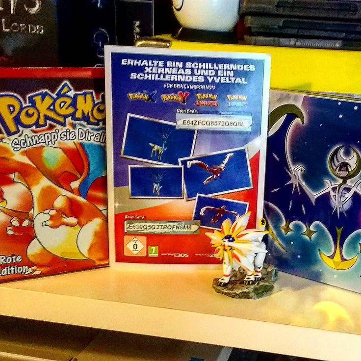 Die LETZTEN #Pokemoncodes dieses Jahr  ich fand's sehr cool dass man diei Chance hatte alle Event #Pokémon zu bekommen! Besonders #Mew  Jetzt darf sich noch jemand sehr schnelles über die #Gamescom #Shinies freuen   #gaming #games #zocken #instagamin #xerneas #yveltal #baconbird #pokemonxy #xy #oras #sunandmoon #pokemonsm #pokemonred #solgaleo #lunala  #nintendo #pokemon
