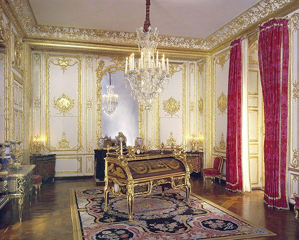 Louis xv private office versailles the magnificent - Bureau d aide juridictionnelle versailles ...