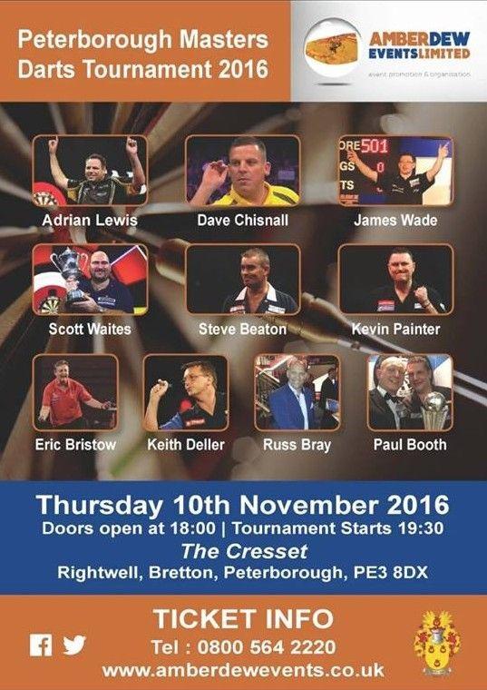 Peterborough Masters Darts Exhibition