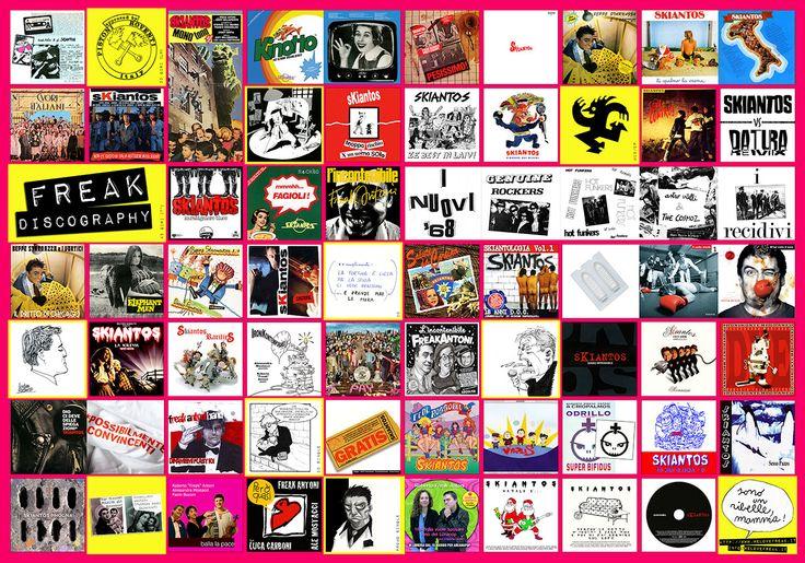 poster discografia acquistabile al link : http://shop.beatstream.it/prodotto/freak-discography/    ( misure 70x 100 cm)