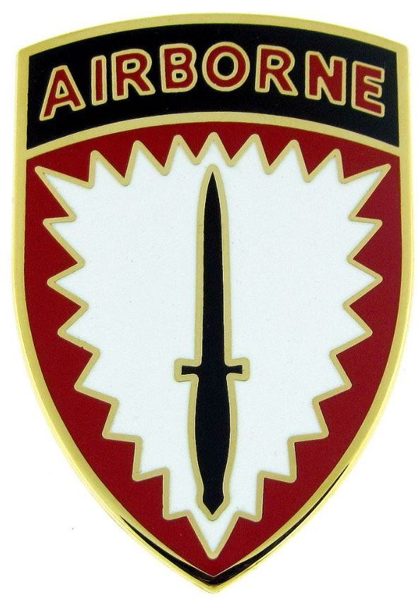 SPECIAL OPERATIONS COMMAND EUROPE USAE, COMBAT SERVICE IDENTIFICATION BADGE