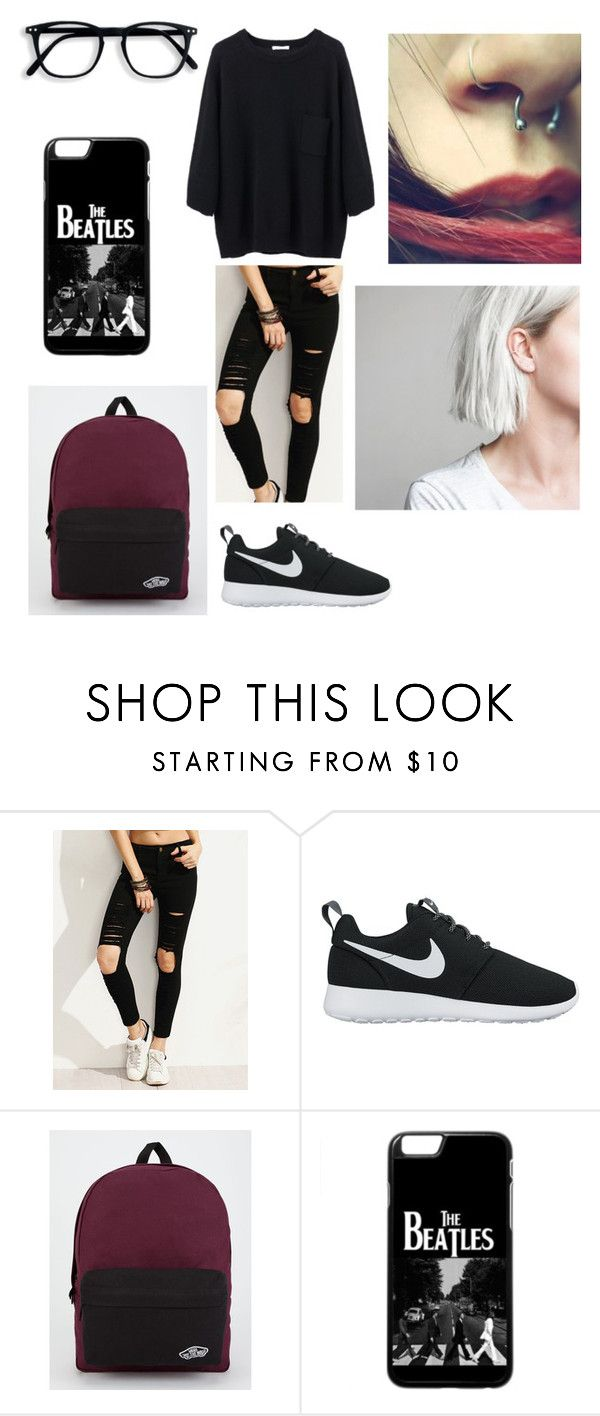 """""""Untitled #107"""" by ladivazamendes on Polyvore featuring NIKE and Vans"""