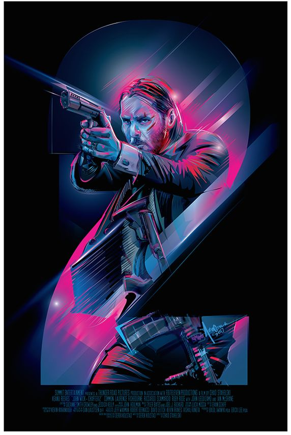 """The Poster Posse Fires Off A Few Shots At Lionsgate's """"John Wick: Chapter 2"""" – Poster Posse"""