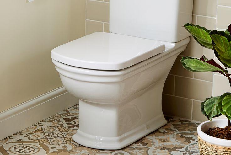 Quantum classical close coupled wc with soft close seat #bathroomfurniture #myutopia