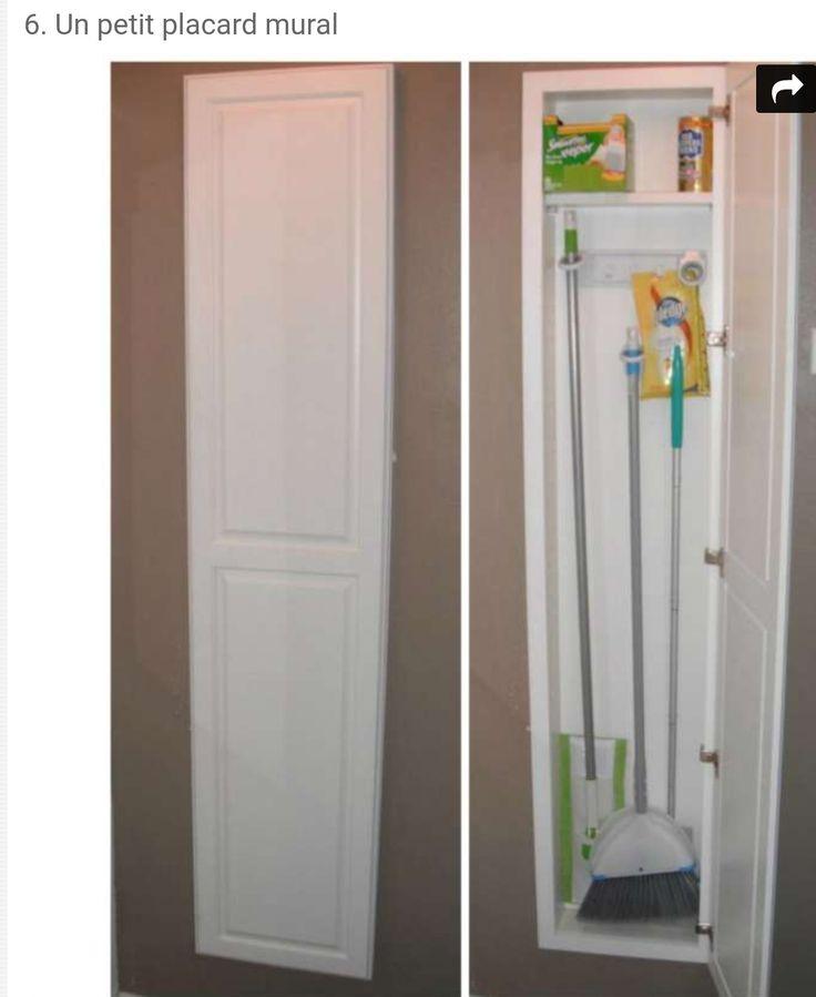 Les Meilleures Images Du Tableau Deco Rangement Sur Pinterest - Porte placard coulissante avec serrurier 75012