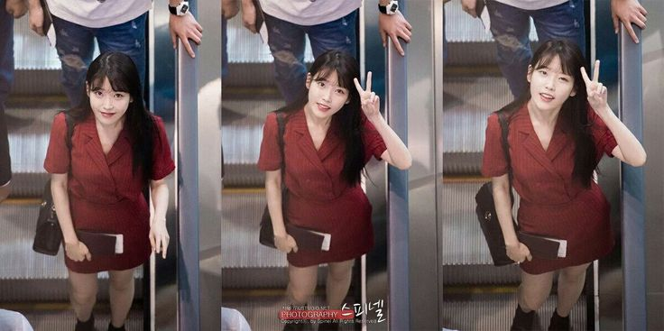 [160729] IU going to China. Incheon Airport.