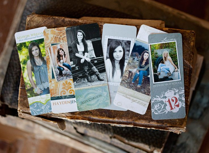 Senior Rep Card Templates by Jamie Schultz Designs