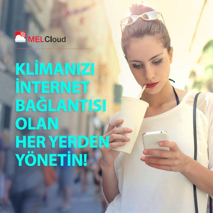 İster işte, ister sokakta... #MELCloud teknolojisi ile klimanızı akıllı telefonunuzdan yönetin! klima.mitsubishielectric.com.tr #MitsubishiElectricKlima #mitsubishielectric #klima #hvac #ac #yaz #summer #sun #smart #phone #app #sıcaklık #cool #home #house #uygulama #enerji #energy #airconditioner #yaşam #lifestyle #cloud #web
