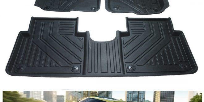 All Weather Anti Slip Tpe Floor Liners Protector Mat For Honda Crv 2017 2019 In 2020 Honda Crv 2017 Honda Crv Floor Liners