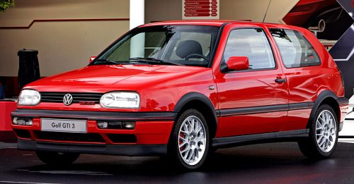 http://chicerman.com  carsthatnevermadeit:  Golf GTi 20 1994.Only 1000 20th Anniversary Mk 3 models were made 600 115 bhp 2.0 8 valves 250 150 bhp 2.0 16 valves and 150 110 bhp 1.9 TDI models (the TDI models were only ever sold in Germany)  #cars