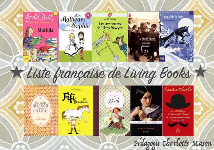 petits homeschoolers: Charlotte Mason: liste française de living books