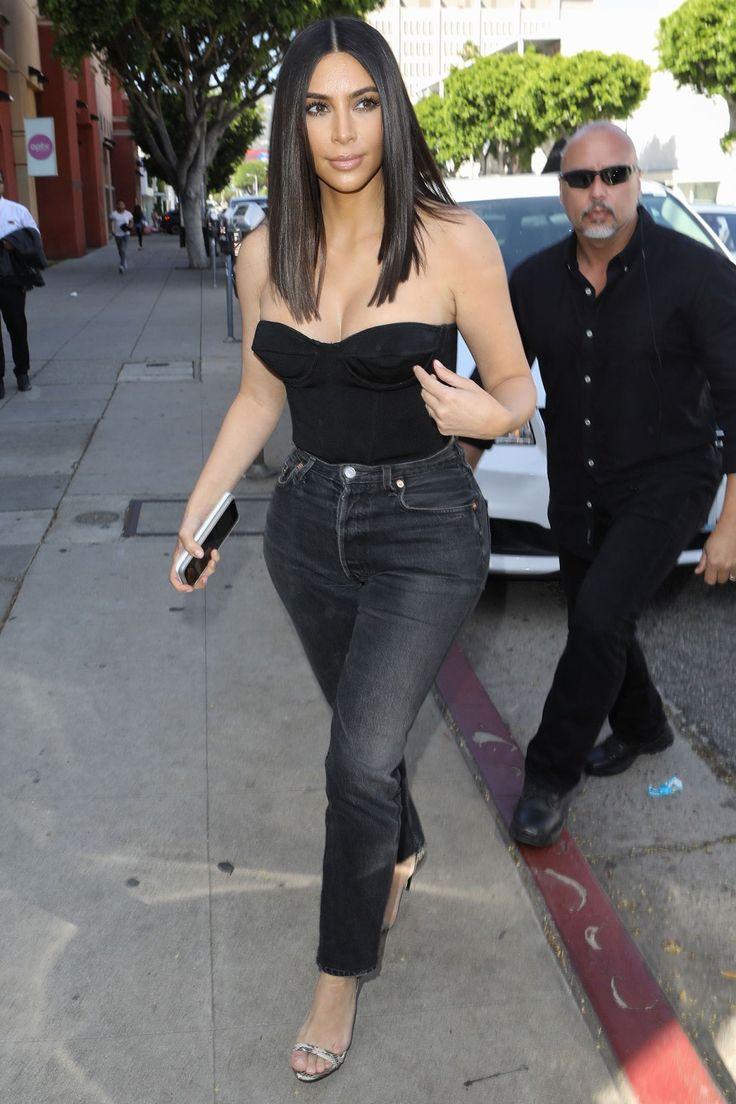 Kim Kardashian West Debuts New Short 'Do the Same Day That Blac Chyna Wears Her 'CherHair'