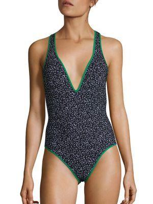 DIANE VON FURSTENBERG Printed One-Piece Swimsuit. #dianevonfurstenberg #cloth #swimsuit