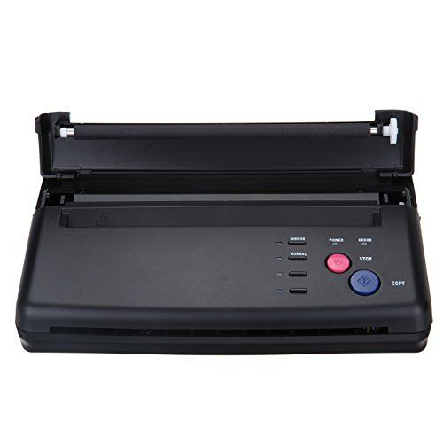 Black Tattoo Transfer Stencil Machine Thermal Copier Prin...