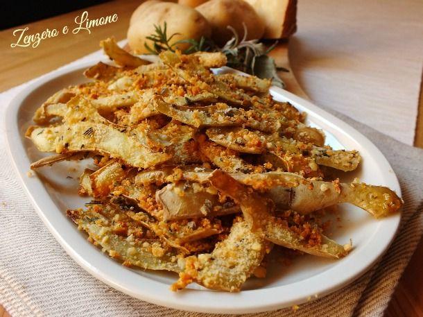 Le bucce di patate alle erbe sono uno dei tanti modi sfiziosi per cucinare le bucce di patate invece di buttarle via. Niente più scarti. Buonissime!