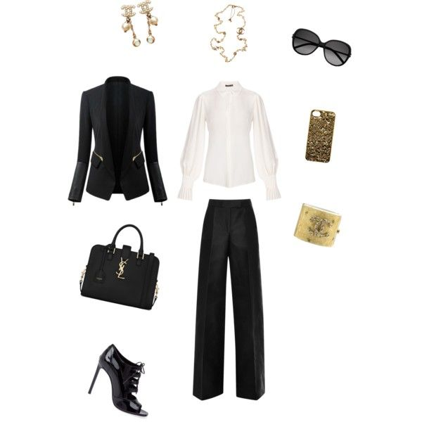 A fashion look from December 2014 featuring Antonio Berardi pants, Yves Saint Laurent sandals and Yves Saint Laurent shoulder bags. Browse and shop related loo…