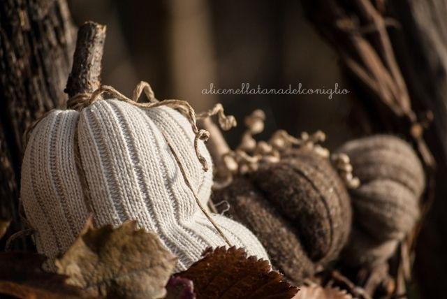 la Tana del Coniglio: ghirlanda autunnale - autumn wreath