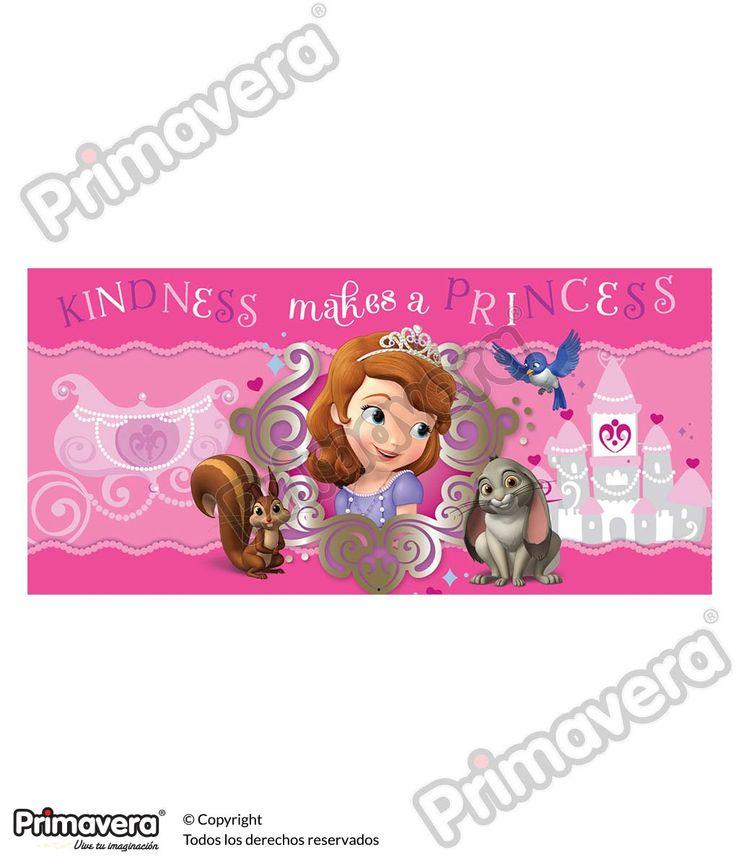 Lluvia de Sobres Princesita Sofia http://envoltura.papelesprimavera.com/product/sobre-personajes-nina-princesita-sofia-2/