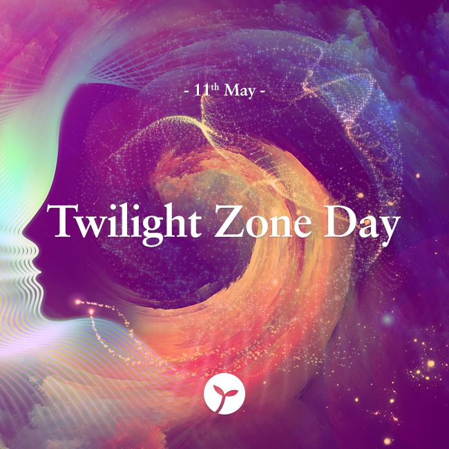 Twilight Zone Day is an annual holiday held this year on 11 May 2015 to celebrate the thought-provoking television series, Twilight Zone, which ran from 1959 to 1964 and was created by Rod Serling. #TwilightZoneDay #bizarre #unique #holiday #holidays #sprout #freedomtogrow