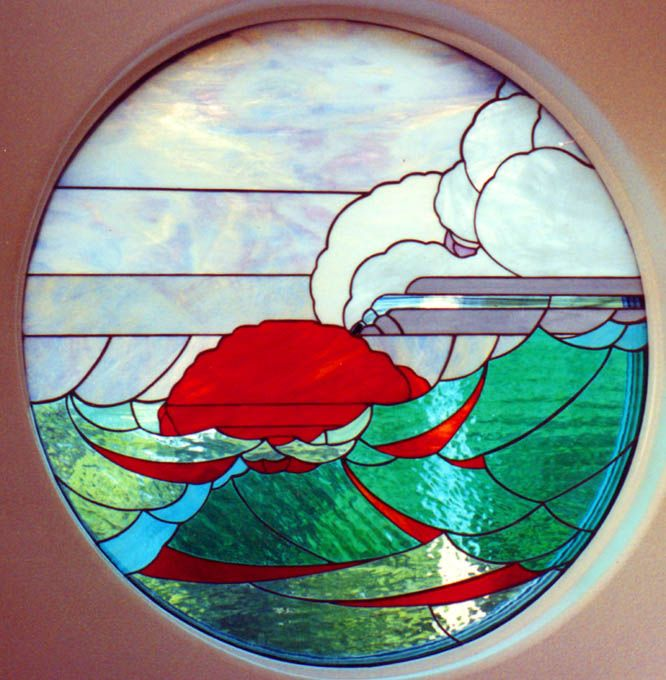 A Diameter Ocean Scene Designed By Oregon Artist Paul Torian And Built By  Skip Thomsen. It Was Installed In A House Designed By Thomsen In Manzanita  Oregon.