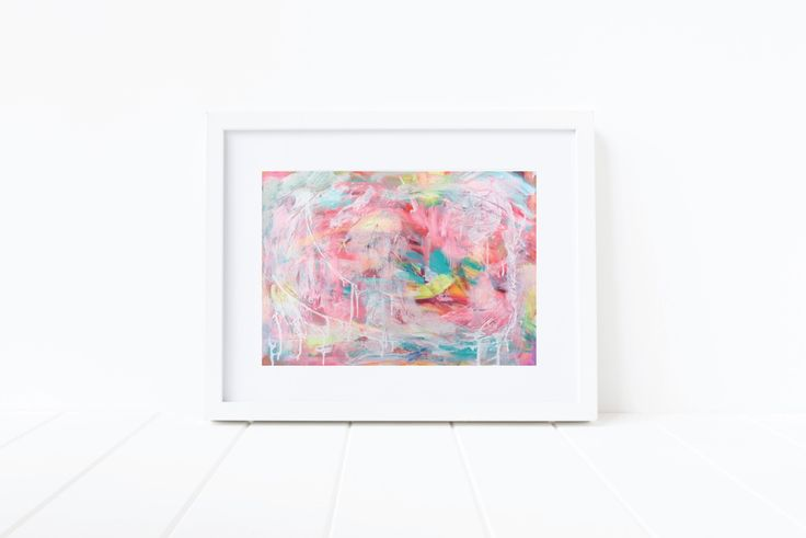 Pretty in Pink, a3 acrylic on paper. Available unframed. Www.facebook.com/alexandraplim/abstractart £20 with free U.K. shipping.
