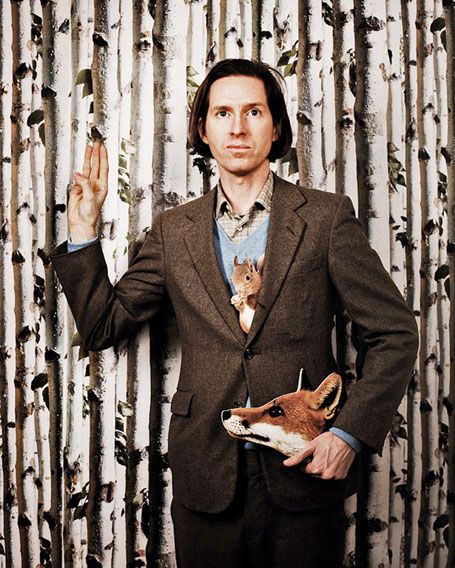 Wes Anderson by Jérome Bonnet for Télérama.