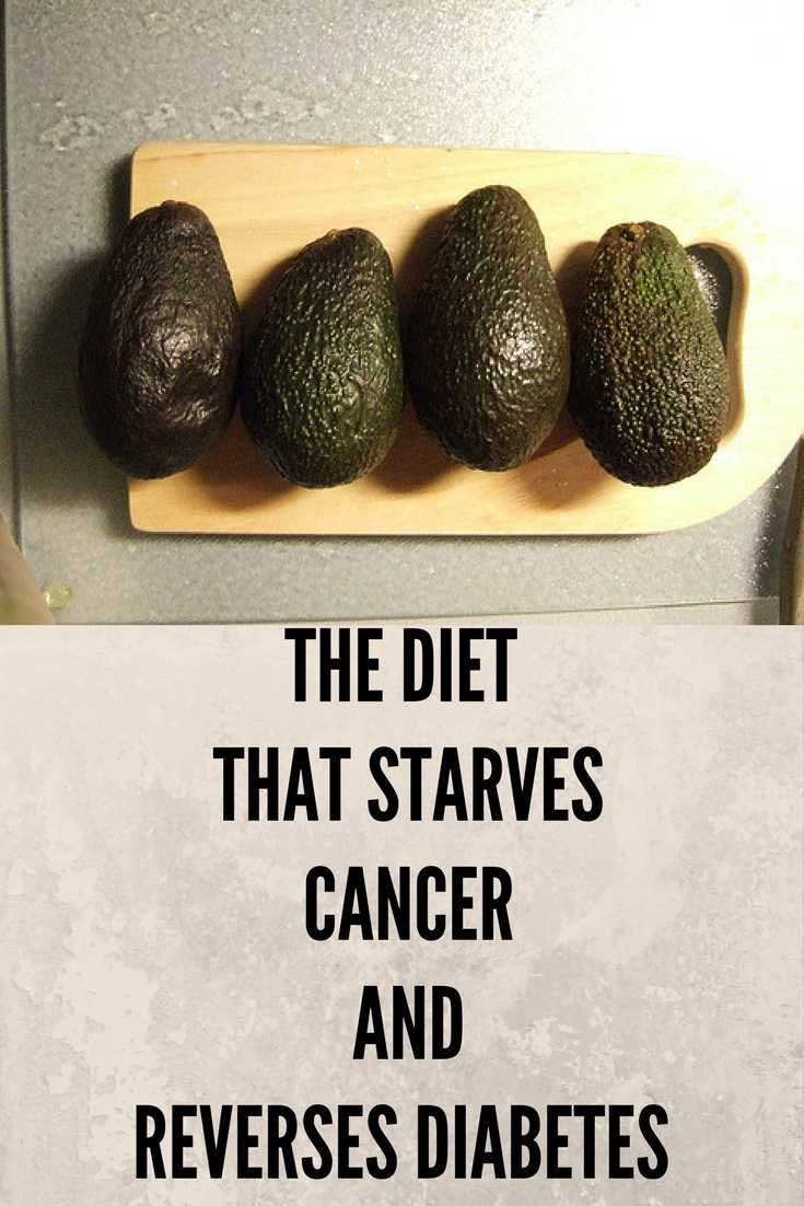 The diet that starves cancer.