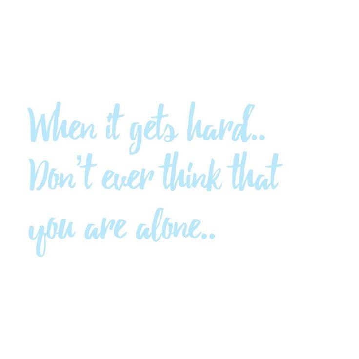Quote, blue, white.