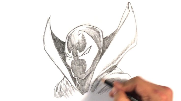 Drawing Spawn One of my favorite comic book characters. Spawn has been such a cool character for so long. He really needs a new movie. I was obsessed with the comic when it first came out and have been following it ever since. Spawn is such a cool design. He reminds me of spider-man and batman together.  This is the first draw though I've done in a while. So I hope you enjoy it :D #arttutorials #learntodrawnow #easystufftodrawnow #artlessonsforfree #learntodrawathome…